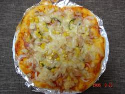 ポテトコーンピザ