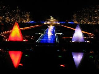 昭和記念公園のクリスマス・イルミネーション3