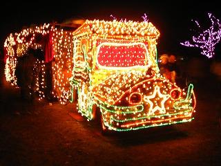 昭和記念公園のクリスマス・イルミネーション5