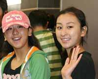 バンクーバー五輪は姉妹でメダル獲りを目指す