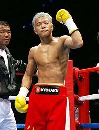 2月に試合が決まったようだ、亀田大毅
