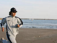 開幕に向けて走って走りまくる井川慶