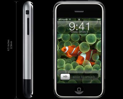 かなり薄いデザインのiphone、アップルの参入は面白いな
