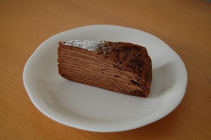 チョコクレープ