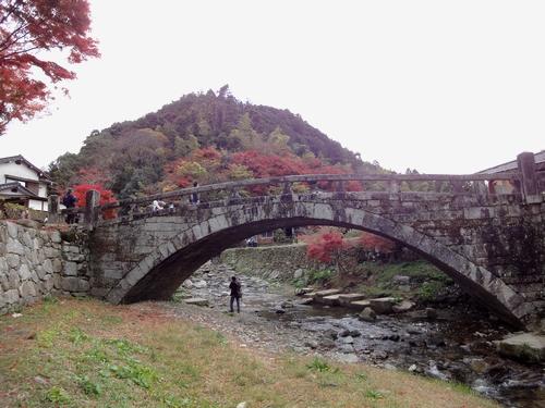 221123 秋月目鏡橋11