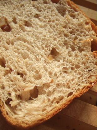 くるみとメープルシュガーのパン