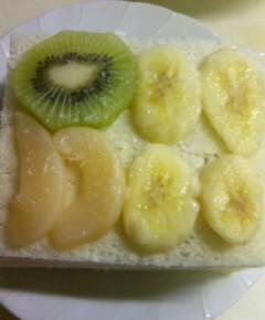 フルーツサンドイッチケーキ14