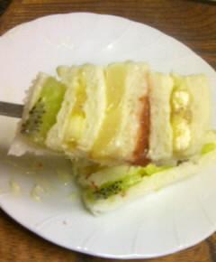 フルーツサンドイッチケーキ25