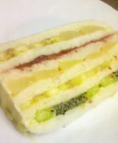 フルーツサンドイッチケーキ22