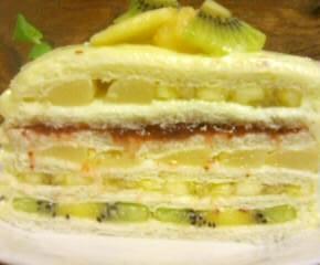 フルーツサンドイッチケーキ23