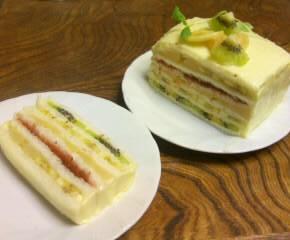 フルーツサンドイッチケーキ24