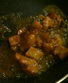 焼き鳥缶詰の親子丼3