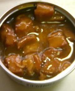焼き鳥缶詰の親子丼2