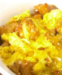 焼き鳥缶詰の親子丼7