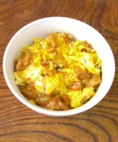 焼き鳥缶詰の親子丼6
