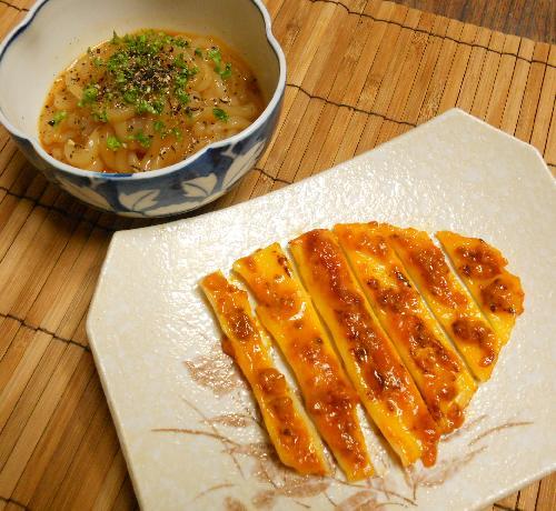イカボナーラ&イカのウニマヨ焼き11