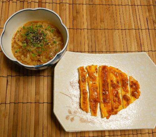 イカボナーラ&イカのウニマヨ焼き10