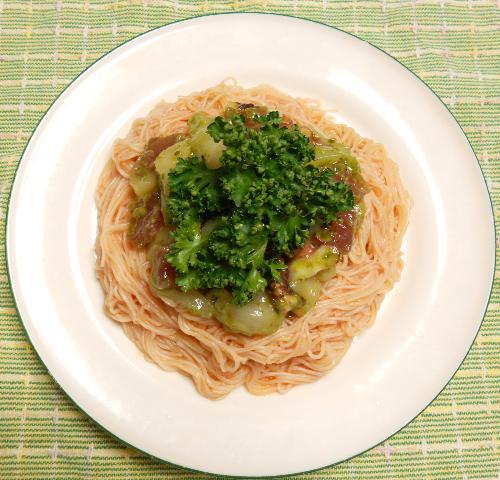 洋風刺身麺12