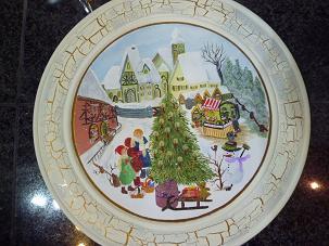 クリスマスプレート2011.1.13