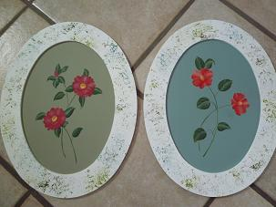 椿と山茶花フレーム2011.1.24