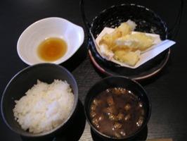 私の選んだメイン「天ぷら」