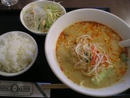 麺ランチ(坦々麺)