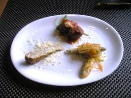 パスタセットの前菜