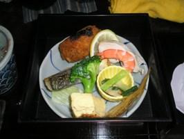 簾屋三段弁当の二段目