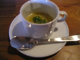 聖護院大根とネギのスープ