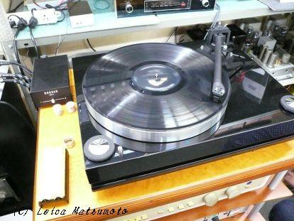 HB-1をアナログ音源での試聴