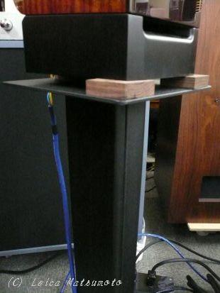 こちらでは木のインシュレーターを使用