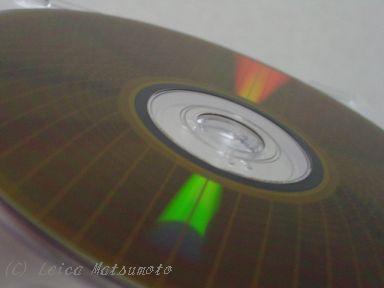 DVD-RAM記録面