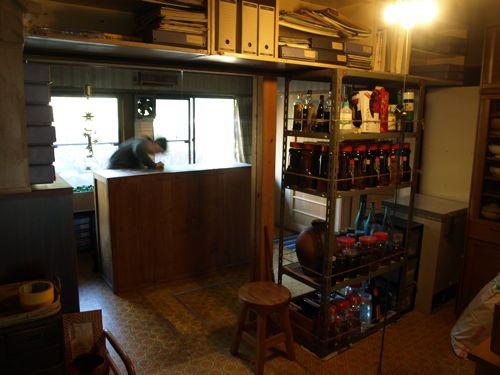 整備された食品室