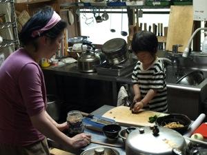 4調理始めのKAN太