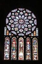 シャルトルの大聖堂(ステンドグラス)