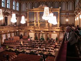 Musikvereinのホール