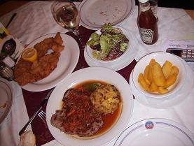 ウィーンの食事