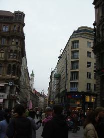 ウィーンの街並