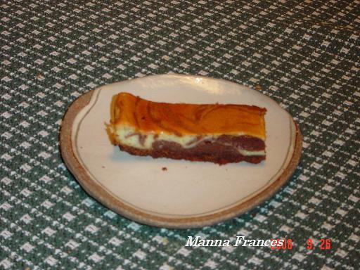チョコレートマーブルチーズケーキ