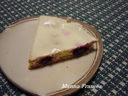 ハニーブルーベリーチーズケーキ