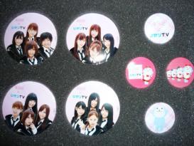 AKB48×ひかりTV オリジナルバッジ
