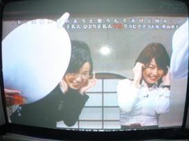 及川奈央&松丸アナ