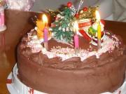 カドーさんのクリスマスチョコケーキ