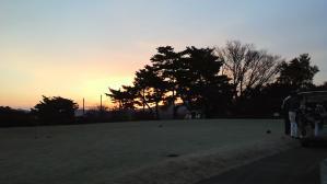 2010年締めくくりのゴルフ