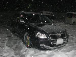三重は雪景色