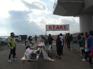木曽三川スタートゴールです