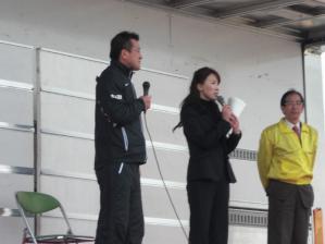 閉会式のゲストは瀬古さんでした