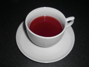 ハーブ茶の香りがやさしいです