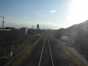 帰りはJRで電車でGo