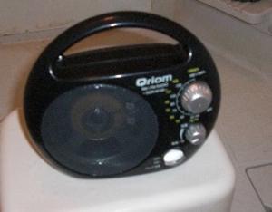 お風呂場の防水ラジオ